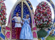 Desfile Cenicienta de Orlando Florida Magic Kingdom del mundo de Disney Fotos de archivo libres de regalías