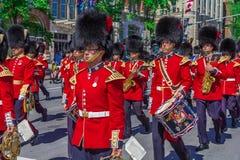 Desfile ceremonial del guardia Imagen de archivo libre de regalías