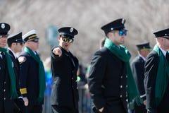 Desfile Chicago 2019 del d?a de St Patrick imagenes de archivo