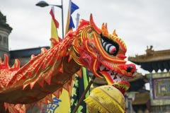 Desfile chino de la calle del Año Nuevo de Liverpool Fotos de archivo