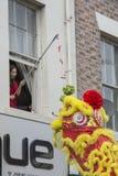 Desfile chino de la calle del Año Nuevo de Liverpool Imagen de archivo