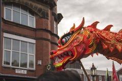 Desfile chino de la calle del Año Nuevo de Liverpool Imágenes de archivo libres de regalías
