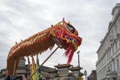 Desfile chino de la calle del Año Nuevo de Liverpool Fotos de archivo libres de regalías