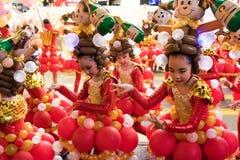 Desfile chino de la noche del Año Nuevo Imagenes de archivo