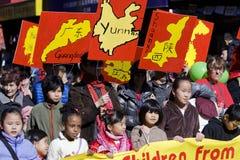 Desfile chino del Año Nuevo Fotografía de archivo