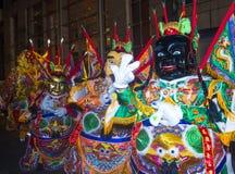 Desfile chino del Año Nuevo Foto de archivo libre de regalías