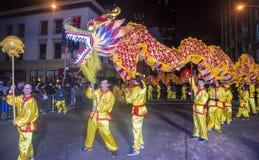Desfile chino del Año Nuevo Fotos de archivo libres de regalías