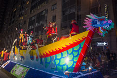 Desfile chino del Año Nuevo Imagenes de archivo