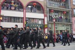 Desfile chino del Año Nuevo de Vancouver Imagen de archivo libre de regalías