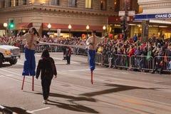 Desfile chino del Año Nuevo en Chinatown Imagenes de archivo