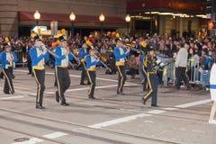 Desfile chino del Año Nuevo en Chinatown Foto de archivo libre de regalías