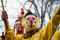 Desfile chino del Año Nuevo en París Imagenes de archivo