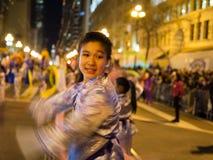 Desfile chino San Francisco 2016 CA Imagen de archivo libre de regalías