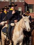 Desfile común occidental de la demostración Imagen de archivo libre de regalías