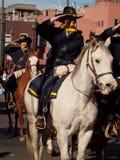Desfile común occidental de la demostración Imagenes de archivo