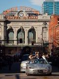 Desfile común occidental de la demostración Foto de archivo