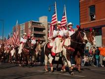 Desfile común occidental de la demostración Fotos de archivo