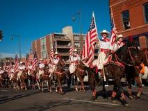 Desfile común occidental de la demostración Fotos de archivo libres de regalías