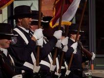 Desfile común occidental nacional de la demostración Foto de archivo libre de regalías