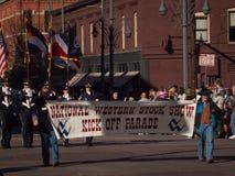 Desfile común occidental nacional de la demostración Fotografía de archivo libre de regalías