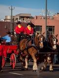 Desfile común occidental nacional de la demostración Foto de archivo
