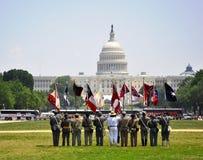 Desfile de 2011 Memorial Day Imágenes de archivo libres de regalías