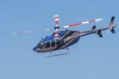Desfile de aviones de Bell 407 Fotos de archivo libres de regalías