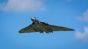 Desfile de aviones del bombardero de Avro Vulcan fotos de archivo libres de regalías