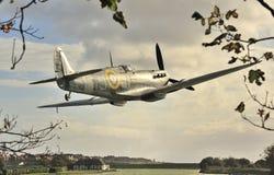Desfile de aviones del Spitfire Imagenes de archivo
