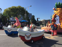 Desfile de Bob Square Pants de la esponja imágenes de archivo libres de regalías
