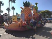 Desfile de Bob Square Pants de la esponja imagen de archivo libre de regalías