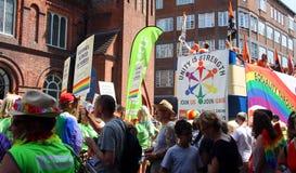 Desfile de Brighton Pride fotografía de archivo