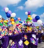 Desfile de carnaval imagen de archivo