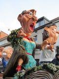 Desfile 2014 de carnaval Aalst Foto de archivo libre de regalías