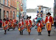 Desfile de carnaval Aalst 2016 foto de archivo libre de regalías