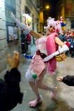 Desfile de carnaval de Barcelona Imagen de archivo