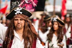 Desfile de carnaval de Limassol, 6 de marzo de 2011 Fotografía de archivo