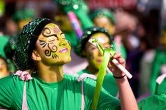 Desfile de carnaval de Limassol, 6 de marzo de 2011 Fotos de archivo libres de regalías