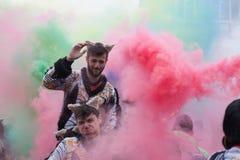 Desfile de carnaval de Xanthi Fotos de archivo libres de regalías