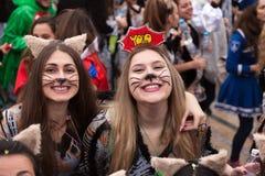 Desfile de carnaval de Xanthi Imagen de archivo