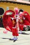 Desfile de carnaval en Banos, Ecuador Imagen de archivo