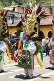 Desfile de carnaval en Banos, Ecuador Fotos de archivo