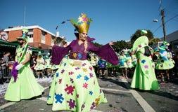 Desfile de carnaval, Limassol, Chipre Foto de archivo