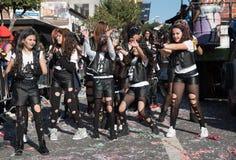 Desfile de carnaval, Limassol, Chipre Fotos de archivo libres de regalías