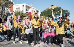 Desfile de carnaval, Limassol, Chipre Fotografía de archivo