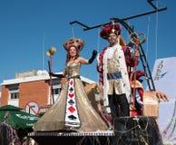 Desfile de carnaval, Limassol, Chipre Foto de archivo libre de regalías