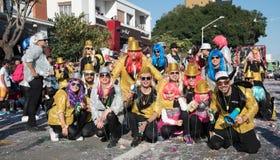 Desfile de carnaval, Limassol, Chipre Imagenes de archivo