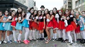 Desfile de carnaval, Limassol Chipre 2015 Foto de archivo
