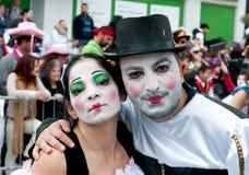 Desfile de carnaval, Limassol Chipre 2015 Foto de archivo libre de regalías