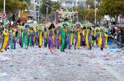 Desfile de carnaval, Limassol Chipre 2015 Fotos de archivo